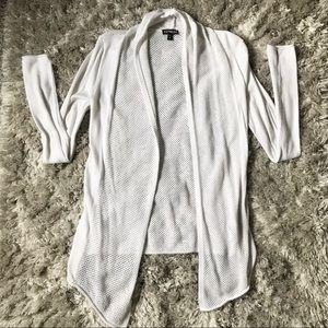 NWOT White Express Cardigan